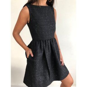 KATE SPADE NWT Tweed Fit and Flare Dress Size 10